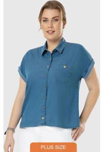 Camisa Azul Jeans Premium Wee!