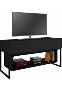 Rack Para Tv Até 40 Polegadas 2 Gavetas Hover Ornament Manfroi Preto