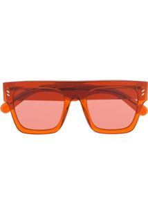 1547df411 Óculos De Sol Laranja Vermelho feminino   Gostei e agora?