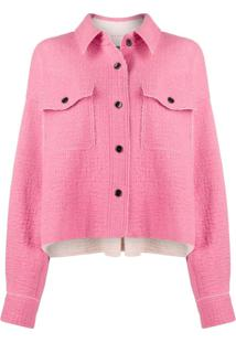Isabel Marant Dennao Oversized Virgin Wool Jacket - Rosa