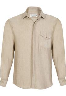 Camisa Doca Clothing Golden Bege