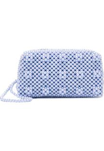 Shrimps Molly Clutch Bag - Azul