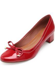 Sapato Sense Rio Laço Za19-2006 Vermelho - Kanui