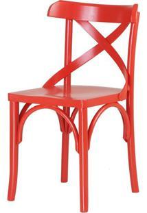 Cadeira Bristol Vermelho 79 Cm (Alt) - 46015 - Sun House