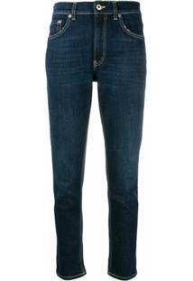 Dondup Calça Jeans Bootcut - Azul