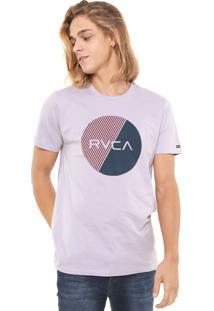Camiseta Rvca Motors Fill Lilás