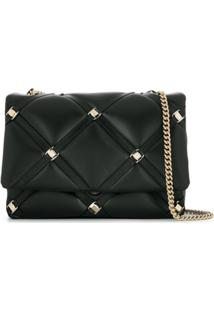 Salvatore Ferragamo Quilted Shoulder Bag - Preto