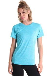 Camiseta Líquido Basic Energy Feminina - Feminino-Azul Claro