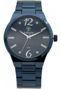 Relógio Tuguir Analógico Feminino - Feminino-Azul