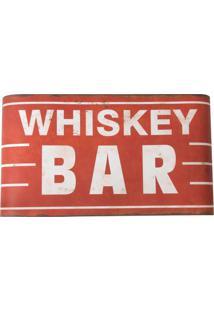 Placa Decorativa Whiskey Bar
