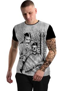 Camiseta Stompy Tattoo Rock Collection 129 Preto