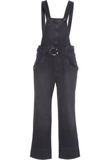 Macacão Feminino Pantalona - Preto