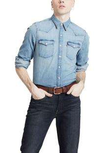 Camisa Jeans Levis Barstow Western - S