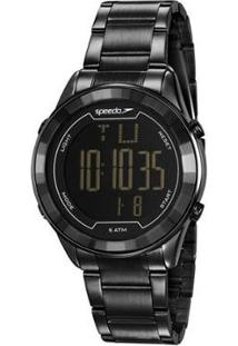 Relógio Speedo Sport Feminino - Feminino-Preto