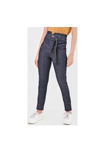 Calça Jeans Colcci Skinny Camila Azul-Marinho