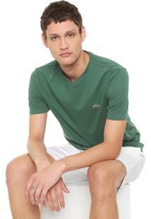 Camiseta Lacoste Logo Verde
