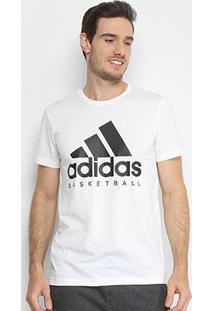 Camiseta Adidas Basketball Graphic Masculina - Masculino