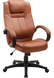 Cadeira Office Nova Cordora-Rivatti - Marrom
