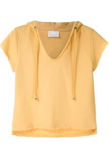 Andrea Bogosian Blusa De Moletom Puller - Amarelo