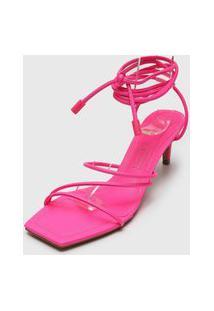 Sandália Santa Lolla Amarração Pink