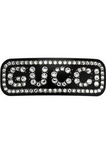 Gucci Presilha De Cabelo Com Cristais - Preto