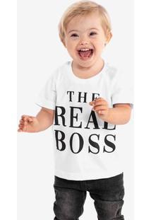 Camiseta The Real Boss Niños 500076