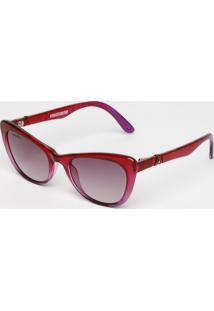 Óculos De Sol Gatinho- Vermelho & Roxo- Absurdaabsurda