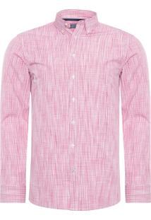Camisa Masculina Bastian Spacedye - Rosa