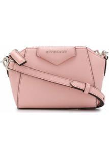 Givenchy Bolsa Transversal Antigona Nano - Rosa
