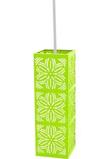 Luminária Pendente Taschibra Renda 101 E27 Verde Limão Bivolt