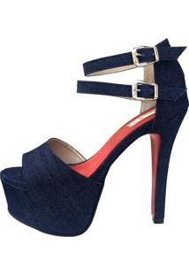 Sandália Blume Romance Jeans