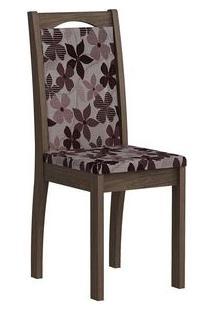 Cadeira Cimol Lívia Madeirado (2 Unidades) Marrocos/Bordô