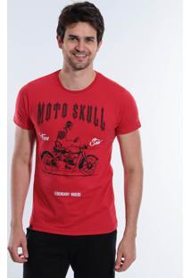 Camiseta Moto Skill Masculina Squadrow