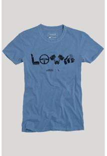 Camiseta Reserva Love Masculina - Masculino-Azul