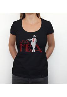 Samba - Camiseta Clássica Feminina
