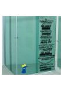 Adesivo Para Box De Banheiro Ratinho Do Castelo Rá-Tim-Bum