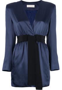 Fleur Du Mal Vestido Envelope - Azul