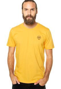 Camiseta Sommer Be Happy Amarela
