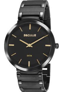 c503d165507 Relógio Digital Aco Decorativo feminino