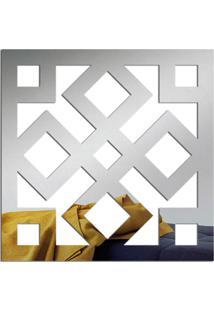 Espelho Love Decor Decorativo Ladrilho Quadrado Único - Kanui
