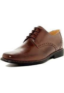 Sapato Social Derby Sandro Moscoloni Quincy Marrom Escuro
