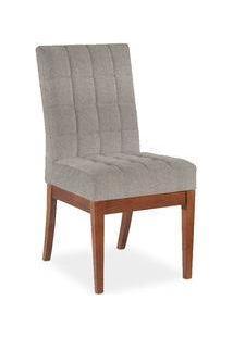 Cadeira Natan Sala De Jantar, Padrao - Imbúia Acetinado, Revestimento - I-86