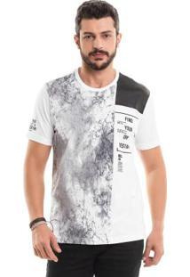 Camiseta Com Recortes Branco Bgo