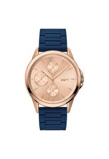 Relógio Lacoste Feminino Borracha Azul - 2001110