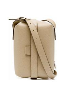 Valextra Tric Trac Satchel Bag - Neutro