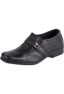 Sapato Social Fox Shoes Masculino - Masculino-Preto