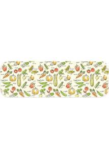 Passadeira Love Decor Wevans Legumes Off White