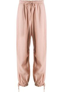 See By Chloé Drawstring-Cuff Trousers - Neutro