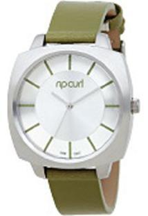 c80b551497d1b ... Relógio De Pulso Ripcurl Alana - Aço - Feminino-Prata+Verde