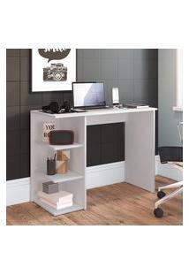 Mesa Escrivaninha Estilare Est019 Modern Office 3 Prateleiras